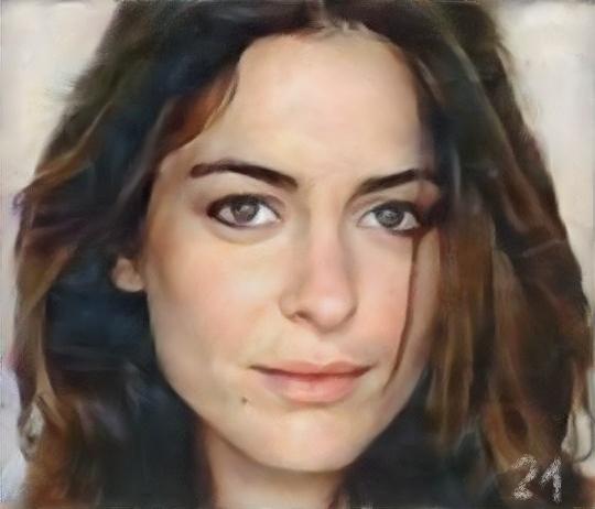 Audrey Dana by baudet